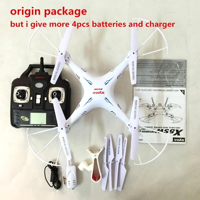 SYMA X5SW FPV Dron 2.4G 6-AxisDRONES Quadcopter Drone Med Kameran - Radiostyrda leksaker - Foto 4