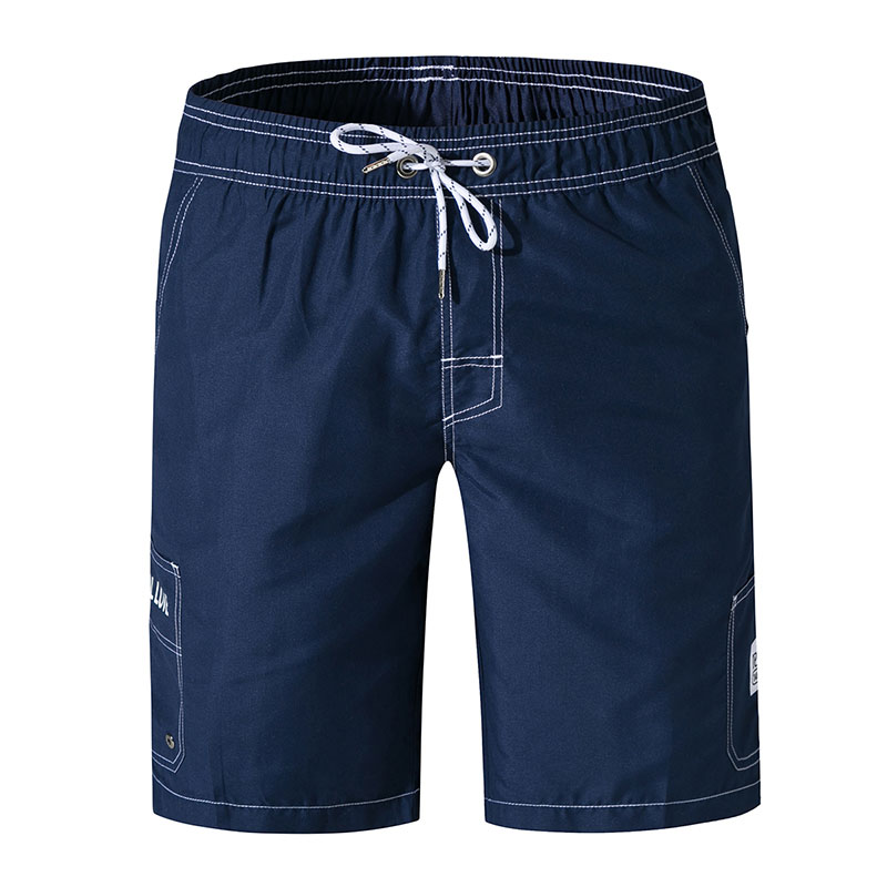 Men   Board     Shorts   Quick Dry Swim   Shorts   Swimwear Man Beach Boardshorts Bermudas Surfing Swim Wear Mesh Liner Lining