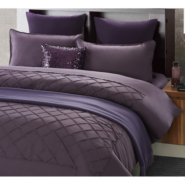 chausub luxury custom egyptian cotton bedding set 4pcs silky bed cover king queen size duvet cover