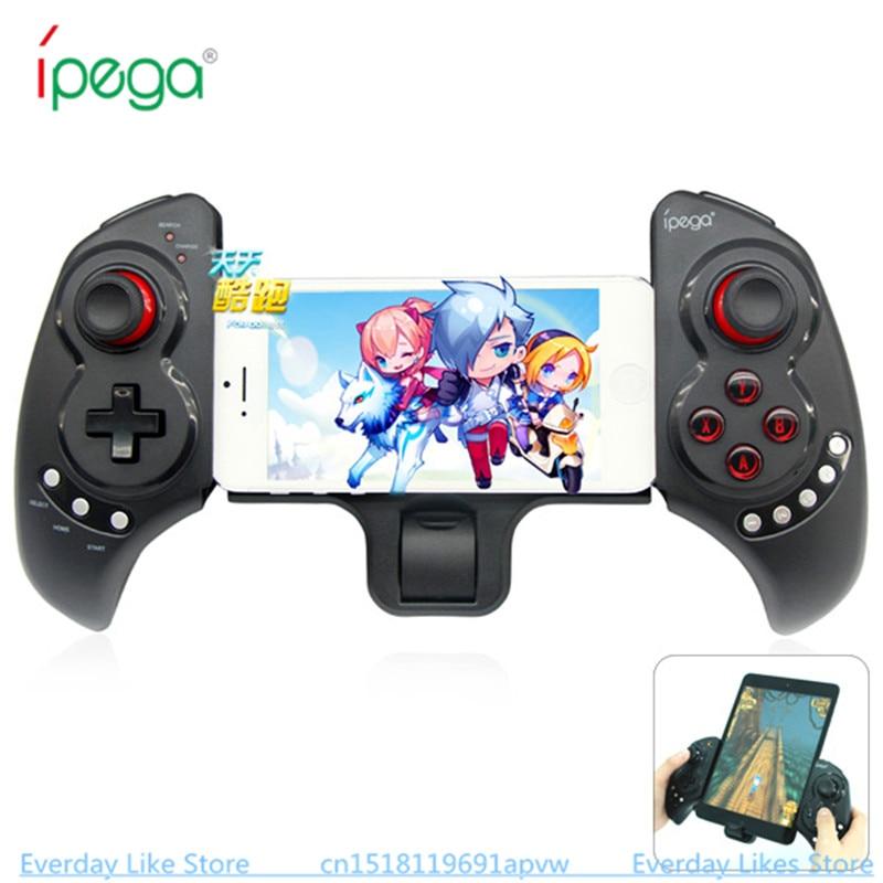 Original IPEGA PG 9023 Telescopic Wireless Bluetooth gaming controller Gamepad game pad Joystick for Android IOS