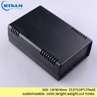 Plastic electric box abs housing plastic enclosure for electronic project junction box DIY small desktop box 135*90*45mm IP55