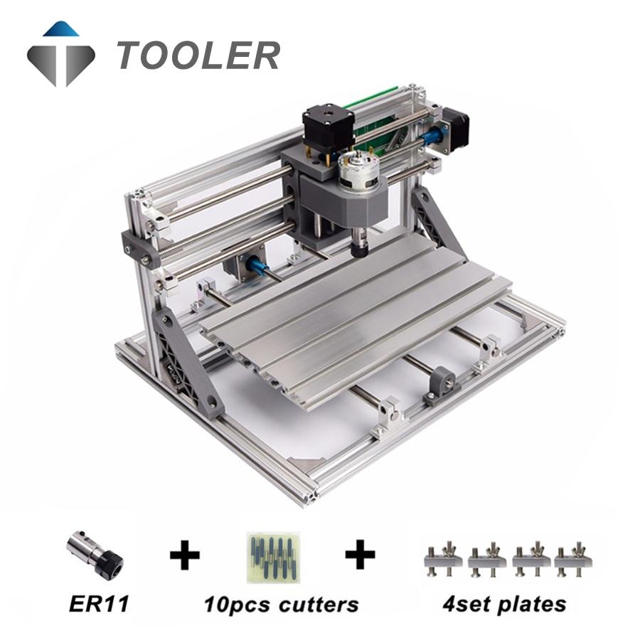 CNC3018 ER11 Laser Options Diy Cnc Engraving Machine Pcb Milling Machine Wood Router Laser Engraving GRBL
