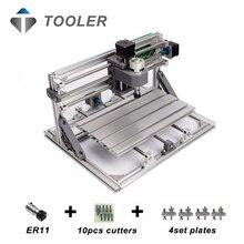 Cnc3018 con ER11, diy mini cnc máquina de grabado láser, Pcb fresadora, enrutador de madera, grabado láser, cnc 3018, mejor juguete