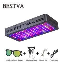 BestVA/300/600/800/1000/1200/1500/1800/2000 W/3000 W led crece la luz de espectro completo de efecto invernadero plantas de semillas de verduras bloom