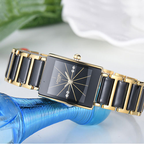 New Fashion Ceramic Quartz Watch Women Watches Ladies Luxury Brand Famous Wrist Watch Female Clock Relogio Feminino Montre Femme kinyued fashion quartz watch women watches ladies girls famous brand wrist watch female clock montre femme relogio j016s 1