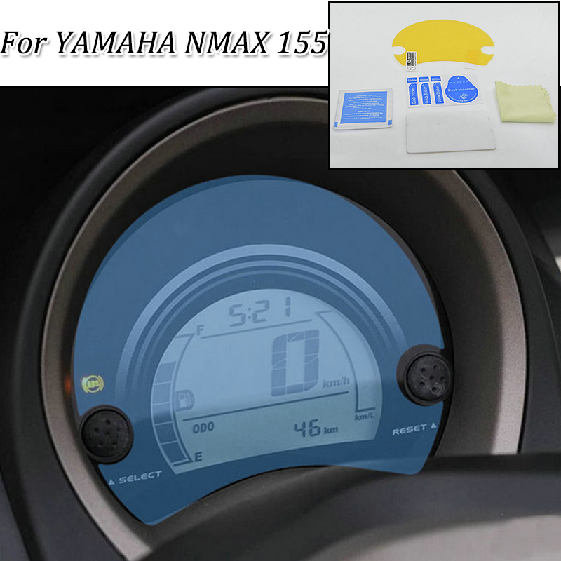 <font><b>NMAX</b></font> 155 moto Cluster Scratch Protection Film Instrument Dashboard Cover Guard TPU Blu-ray for <font><b>YAMAHA</b></font> <font><b>NMAX</b></font> 155 image