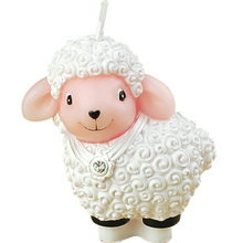 creative smokeless scented animal cartoon cute sheep cake decorated candles for children kid birthday party wedding party gift