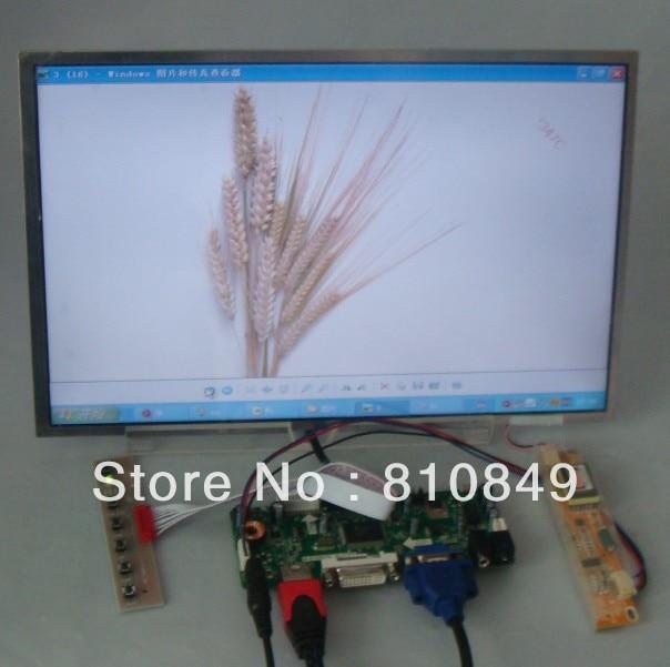 HDMI/DVI/VGA LCD controller board+14.1inch B141EW01 LTN141AT02 1280*800lcd panel переходник aopen hdmi dvi d позолоченные контакты aca311