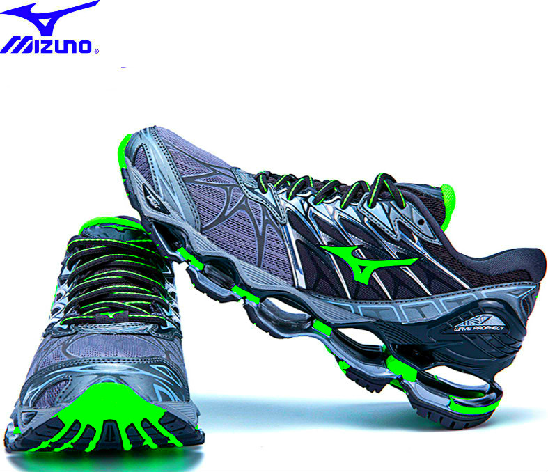 High Quality Mizuno Wave Prophecy 7 Professional Men Shoes Air Cushioning For Men Weight Lifting Shoes