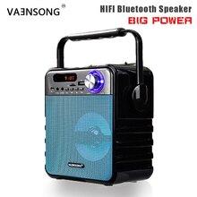 Премиум Ручной Портативный беспроводной Bluetooth динамик превосходный бас и звук высокой четкости музыкальный плеер fm-радио движение KTV