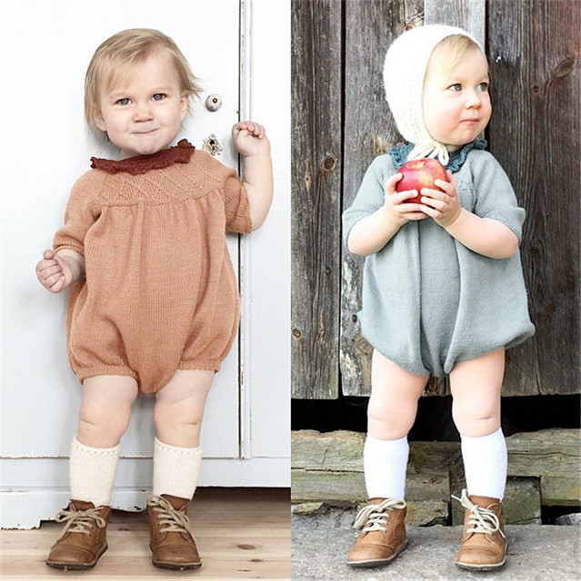 MAKA KIDS Autumn Fall Cardigan Kids Romper baby girl Clothes BOBO CHOSES Children Rompers Kids Sweater KIKIKIDS Vetement Fille
