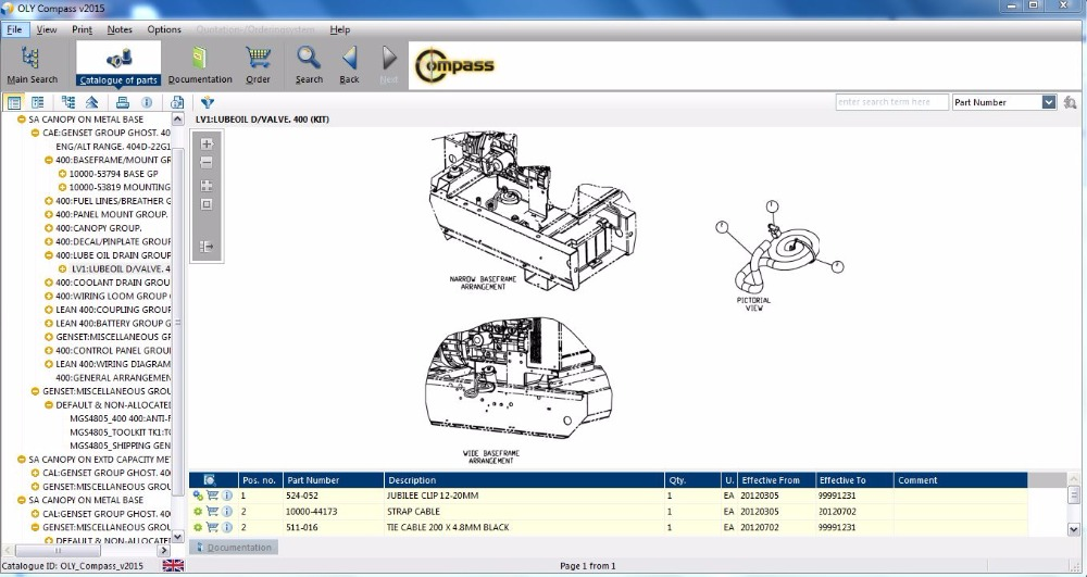 US 150 0 OLYMPIAN COMPASS 2015 Spare Parts Catalogue For Generator Sets And Engines Parts On Alibaba Group