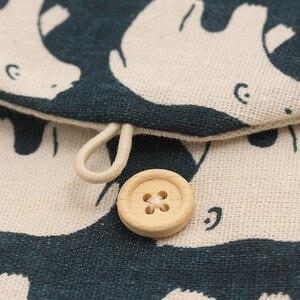 Image 5 - 1 Piece Creative Brief  Polar Bear Tree Whale Hedgehog Design Earphone Coin Data Line Sanitary Towel Home Office Storage Bag