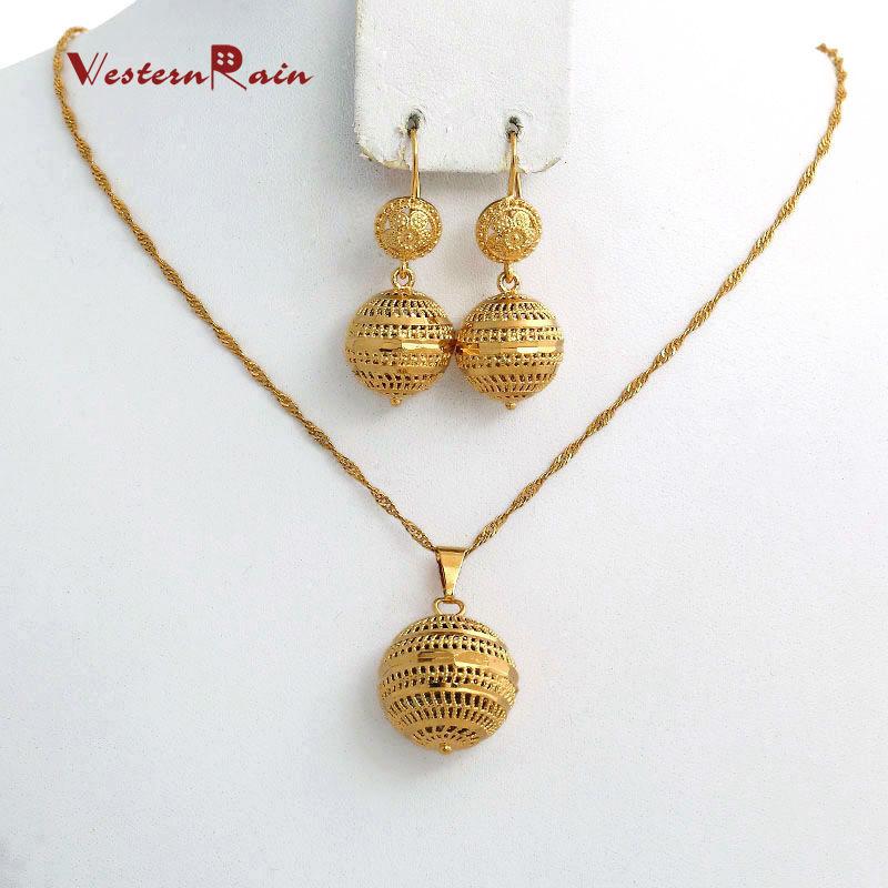 WesternRain Latest Popular Earrings Gold Designs Fashion Women 24k ...