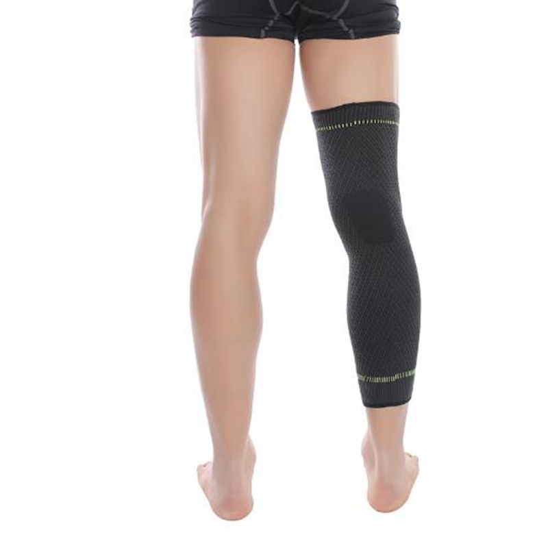 Elastic Sports Basketball Sleeve Leg Long Calf Knee Brace Support Protector polainas senderismo Mens Cycling perneras ciclismo