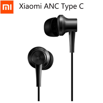 Original Xiaomi ANC Earphones Hybrid Type-C Charging-Free Mic Line Control Sport Earphone for Xiaomi Mi6 MIX Note2 Mi5s Plus Mi5 Phone Earphones & Headphones
