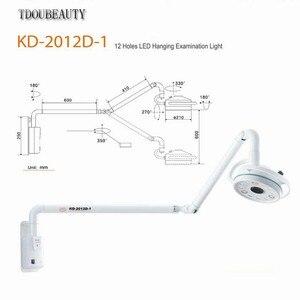 Image 2 - 2020 NEUE TDOUBEAUTY 36W Hängen LED Chirurgische Exam Licht Schatten Lampe Haustier Chirurgie Dental Abteilung KD 2012D 1 Freies Verschiffen