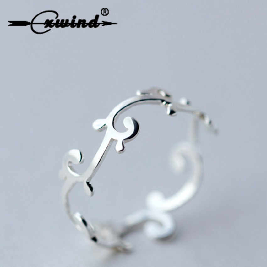 Cxwind Branch Knuckle Toe Rings for Women Adjustable Wedding Geometric Rattan Ring Fashion Knuckle Jewelry Girls