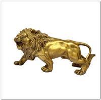 Bronze Brass Statue figurine lion