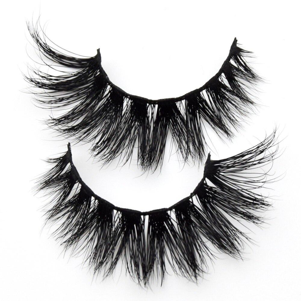 7eb4c67f849 Visofree Mink Eyelashes Winged 3D Mink Hair False Lashes Dramatic Volume Mink  Lashes Cilios Full Strip False Eyelashes D103