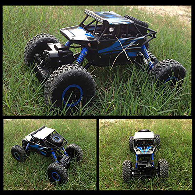 ФОТО 1/18 Rock Crawler Remote Control RC High Performance Truck Car 2.4 GHz Control System Vehicle with Four Wheel Drive