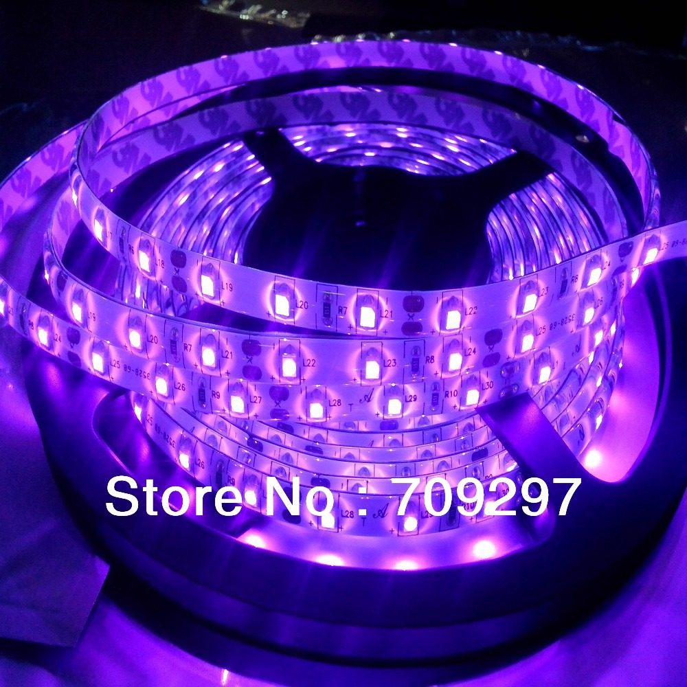 Uv ultraviolet color 5m 300led strippurple 3528 smd waterproof uv ultraviolet color 5m 300led strippurple 3528 smd waterproof dc12v 60ledm led stripchristmas light 660586 free shipping in led strips from lights aloadofball Image collections