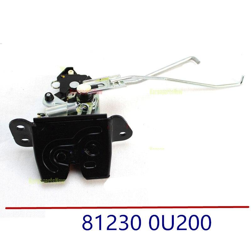 Genuine Rear Suitcase Lock Assembly Rear Tail Gate Latch Lock For Hyundai Accent Solaris 2011-2017 812300U200 81230 0U200