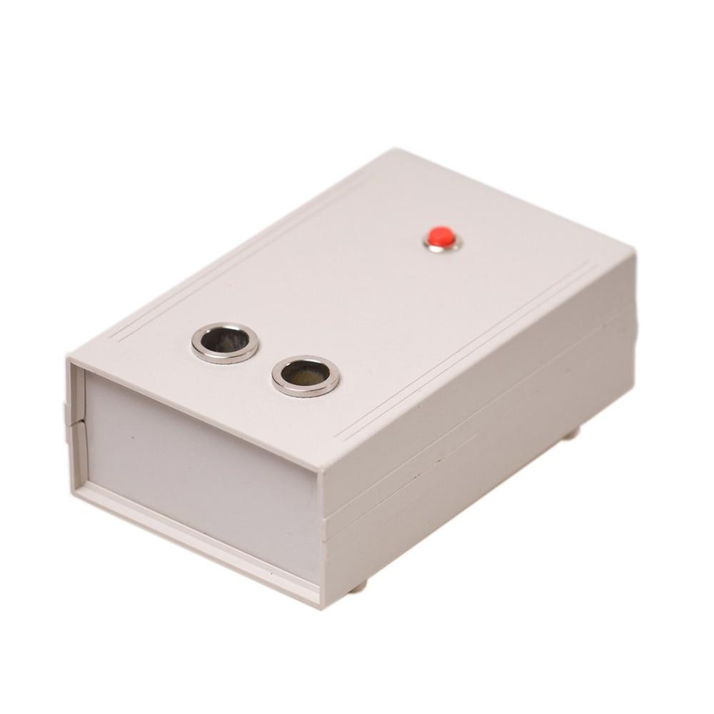 220V Spark Ignition Failure Detector Two Holes Dual Port Automotive Spark Tester Box Spark Plug Test Drive Car Diagnostic Tool