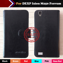 Hot!! DEXP Ixion M250 Ferrum Case Factory Price 6 Colors Luxury Dedicated Flip Leather Exclusive Cover Phone +Tracking