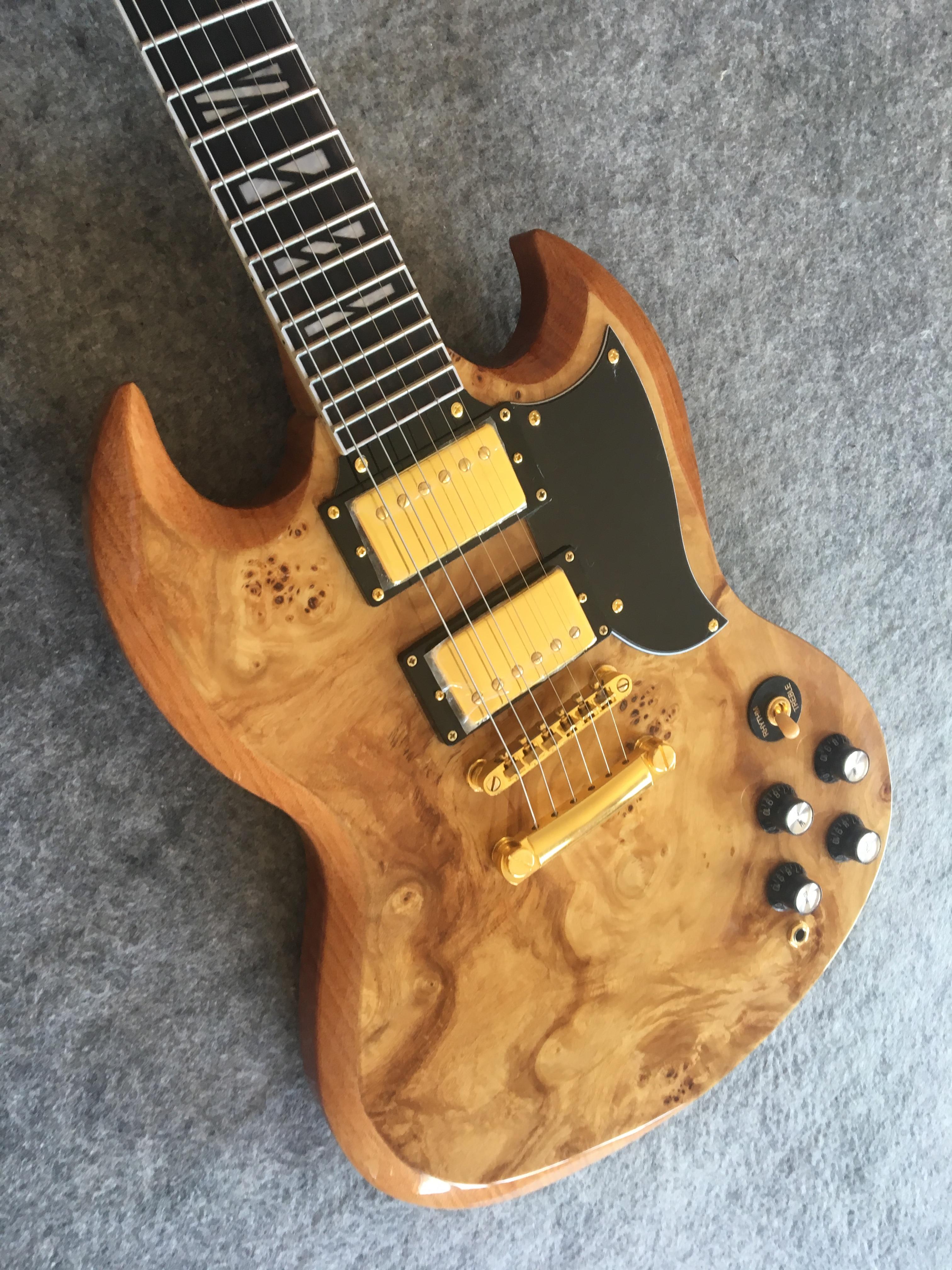 Guitare électrique barre paresseuse bois palissandre touche livraison gratuite