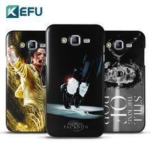 2016 new arrivals phone cases for S7 Edge cover Michael Jackson MJ hard PC cover for galaxy S7 Edge fundas wholesale