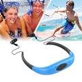 Deporte impermeable Reproductor de MP3 FM Subacuática Cabeza Con 8 GB Estéreo MP3 Radio FM para el Surf Natación Buceo