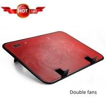 Эргономичная охлаждающая подставка под ноутбук USB подставка с вентилятором пластинчатый охладитель для 14 дюймов основание крепления радиатора ноутбука ПК держатель для аксессуаров
