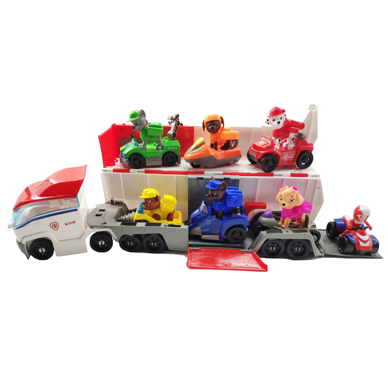 Paw-Patrol-Dogs-Big-Bus-Command-Rescue-Vehicle-Music-Rescue-Base-Set-Vehicle-Anime-Action-Figures