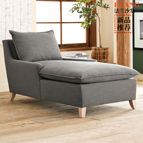 Ikea Single European Royal Couch Minimalist Sofa Washable Cotton Cloth Custom Chaise Lounge Chairs