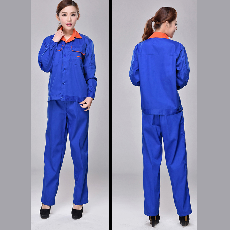 Work Overalls Men Women Protective Repairman Strap Trousers Working Uniforms Plus Size Long sleeve + short sleeve Coveralls plus size bell sleeve plunge tee