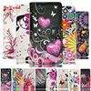 High Quality Fashion Leather Love Heart Leather Case Cover For Microsoft Nokia Lumia 640 N640 Wallet