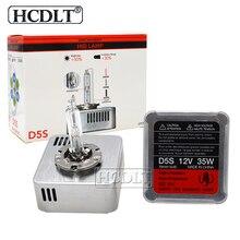 HCDLT Подлинная 35 W 5500 K D5S Xenon HID сменный лампа автомобилей Стайлинг 9285 410 171 9285410171 все в одном D5S 35 W HID балласт лампы