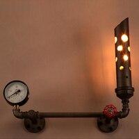 Настенный монтаж спальня ночника тормозной фонарь светодиодный Таблица lampbedside переключатель освещения Крытый студийного освещения лампы