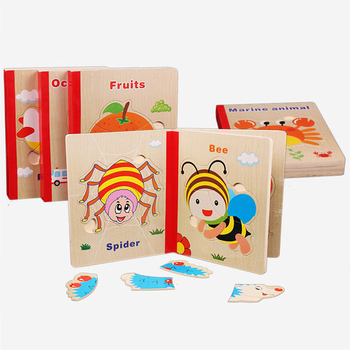 Baby Wooden Montessori Materials Educational Toys For Children Montessori Wooden Math Puzzles Book Toy For Kids Teaching Aids