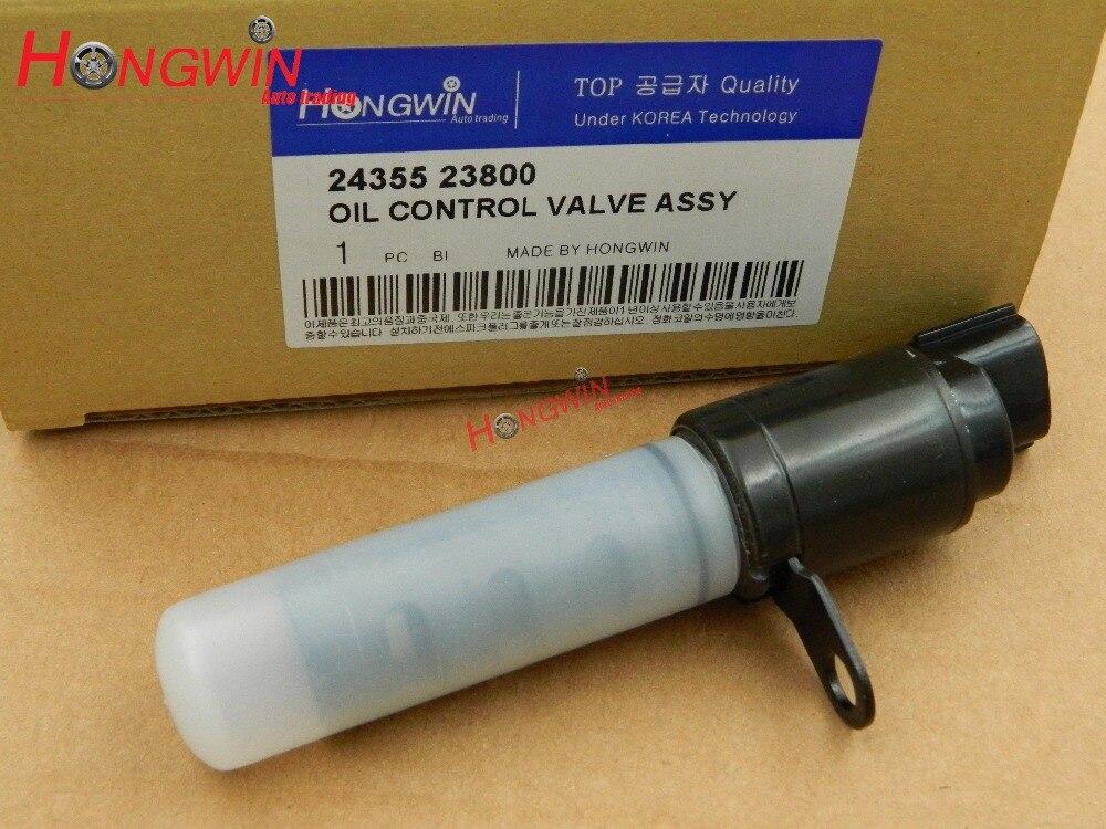 Tucson Tiburon OEM 2435523800 Genuine Oil Control Valve 1p For Hyundai Elantra