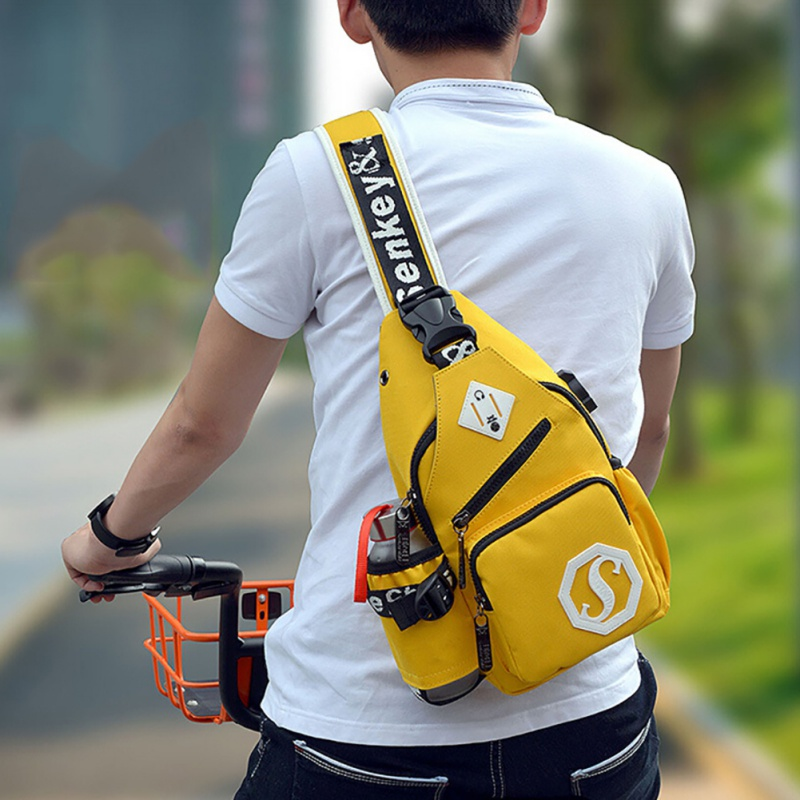 Outdoor Hiking Mens Style Bright Chest Pack Messenger Womens Bag Mens Handbags Handbags Travel Bags