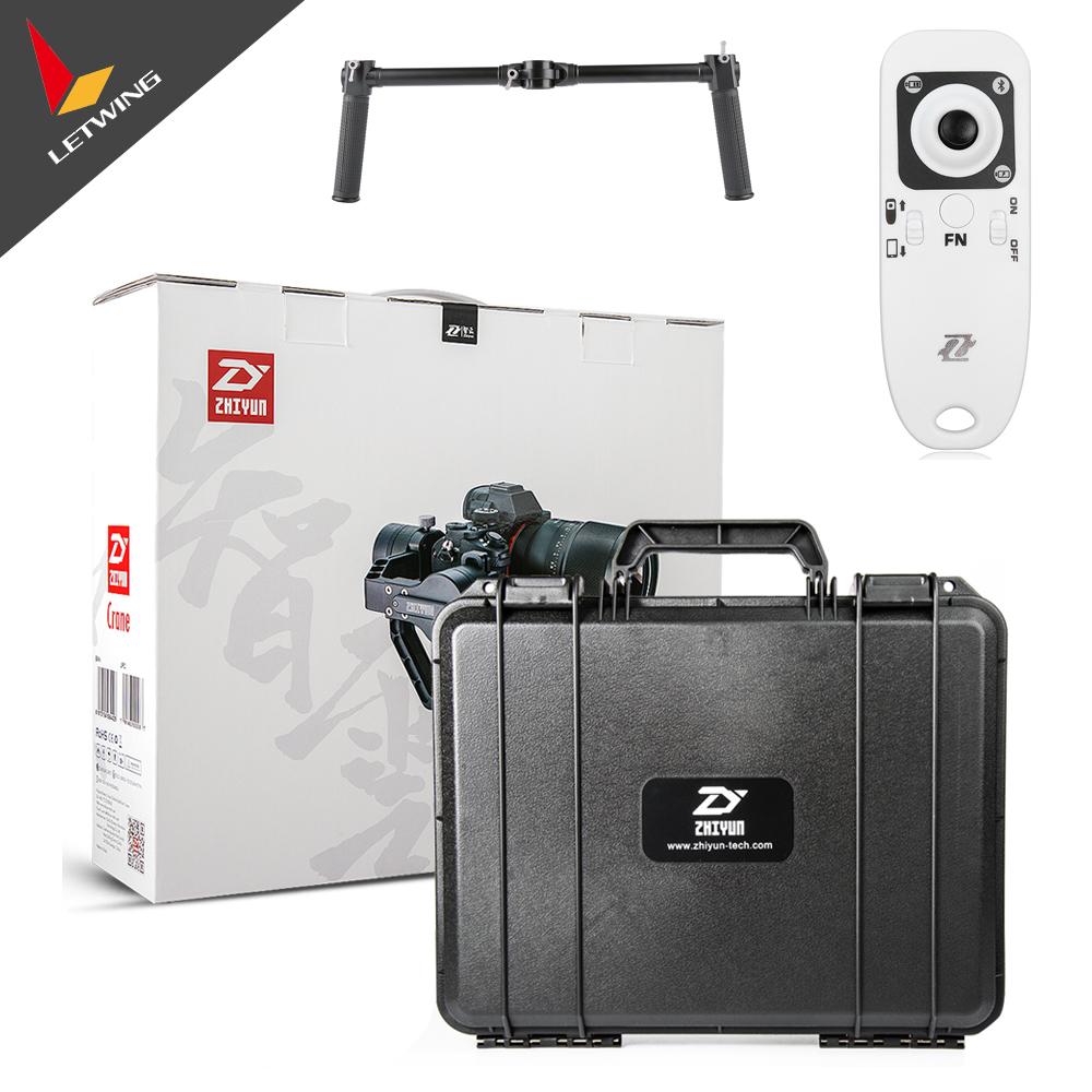 Prix pour Livraison DHL! date version Zhiyun Grue 3-axis Caméra vidéo De Poche Stabilisateur Cardan pour Mirrorless Appareil Photo REFLEX NUMÉRIQUE