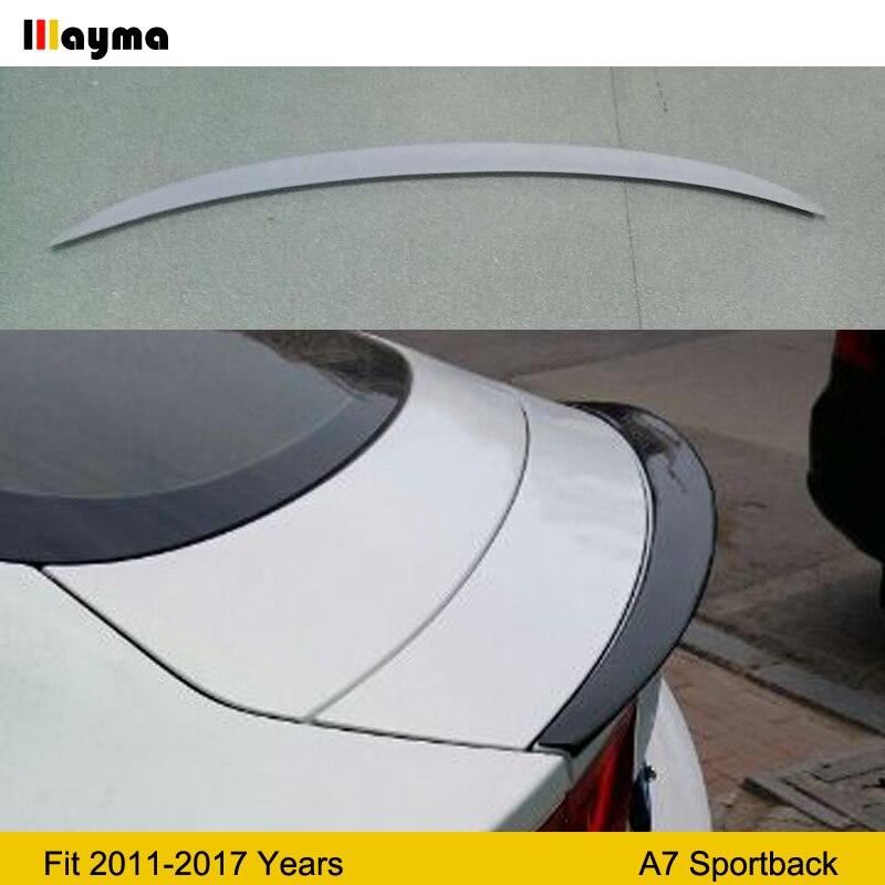 Aileron de coffre arrière en Fiber de verre pour Audi A7 Sportback 30 FSI 35 40 50 TFSI quattor 2011-2017 année