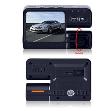 Hot Car Camera Full HD 1080P Car DVR Dual Lens Dash Cam Video Recorder 2 Camera Night Vision Car DVR Camcorder H.264