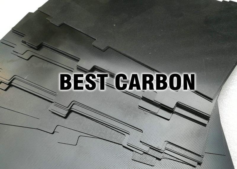 134mm x 227mm x 0.5mm Black fiberglass plate , fiberglass sheet