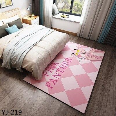 Corail velours tapis salon table basse couverture chambre chevet tapis lit avant chambre tapis Tatami yoga tapis 140 cm x 200 cm rose tapis
