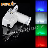 9W Lamp RGB White Cover 4in1 LED Pinspot Light Sound Active LED Rain Stage Light DJ