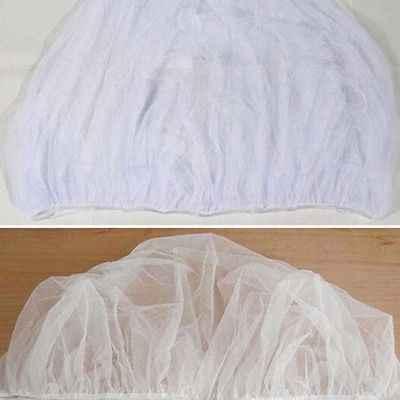 عربة أطفال حامي سرير يدفع باليد يطير ناموسية الأبيض مكافحة الحشرات علة صافي