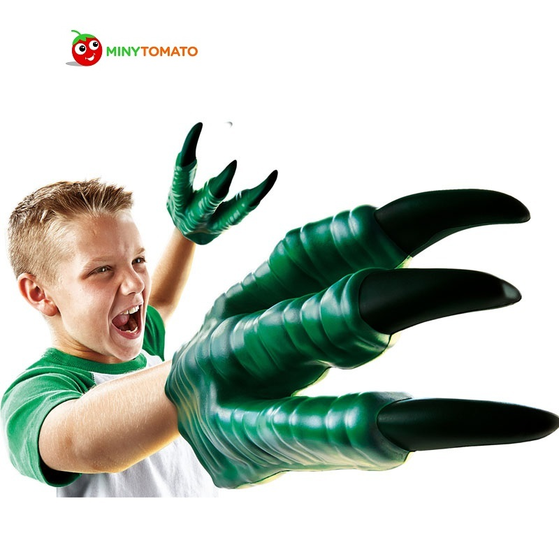 Dinosaur Toy Jurassic Dinosaur Gloves Toy Child Halloween Gift font b Gadgets b font For Boy